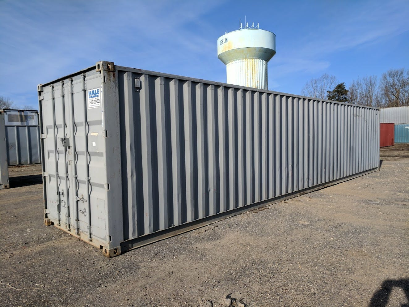 1992 CONT. 40 FT CONTAINER TRAILER #675261