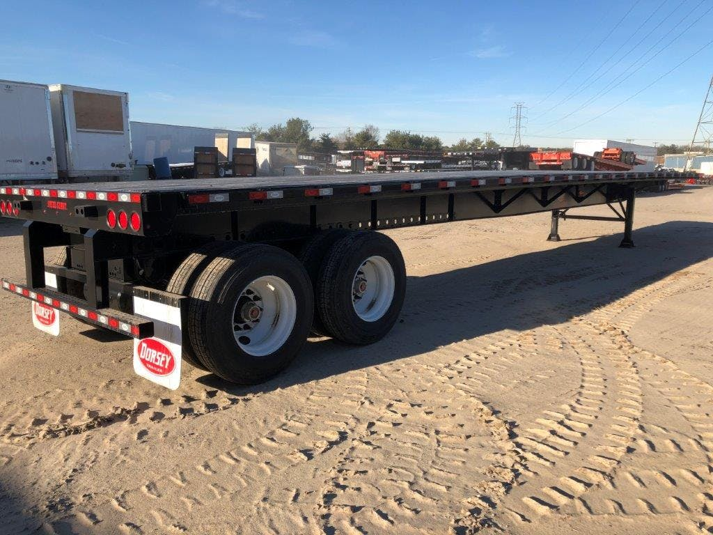 2019 DORSEY STEEL FLATBED TRAILER #643524