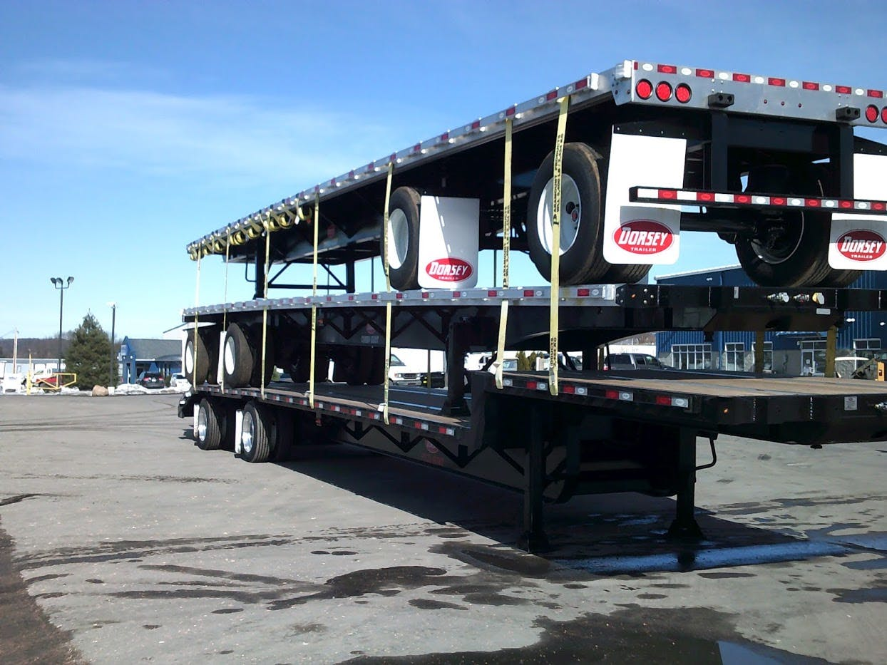 2019 DORSEY COMPOSITE FLATBED TRAILER #642075