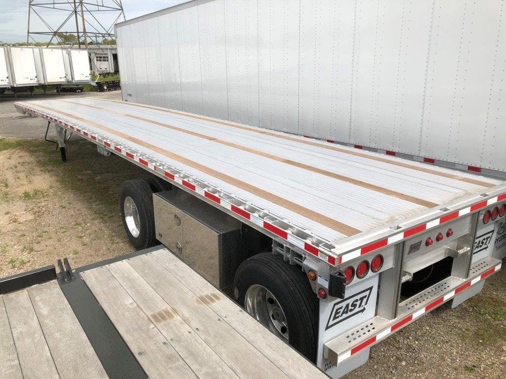 2020 EAST ALUMINUM FLATBED TRAILER #641893