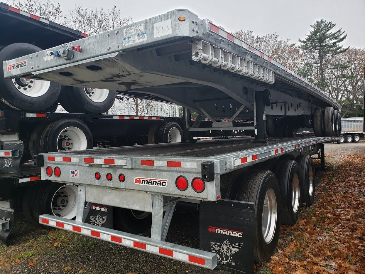 2019 MANAC STEEL FLATBED TRAILER #641995