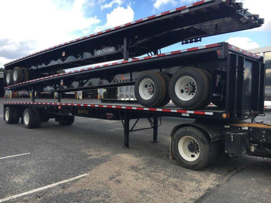 2018 FONTAINE STEEL FLATBED TRAILER #598744