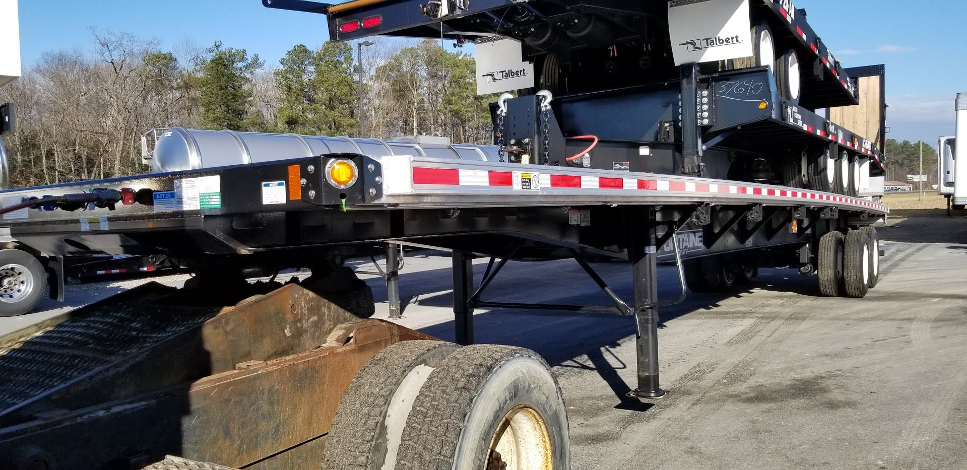 2019 FONTAINE COMPOSITE FLATBED TRAILER #643528