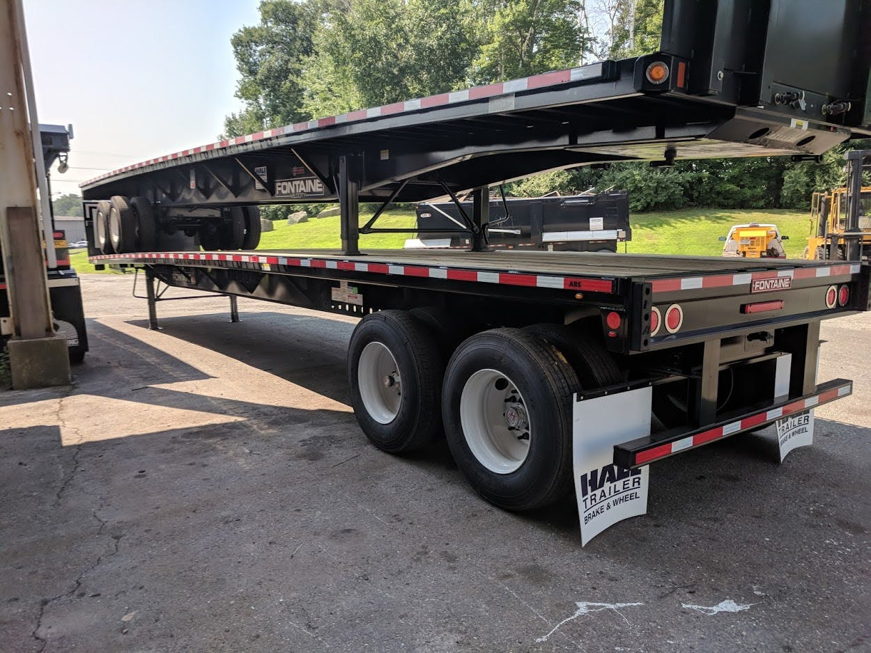2019 FONTAINE STEEL FLATBED TRAILER #643529