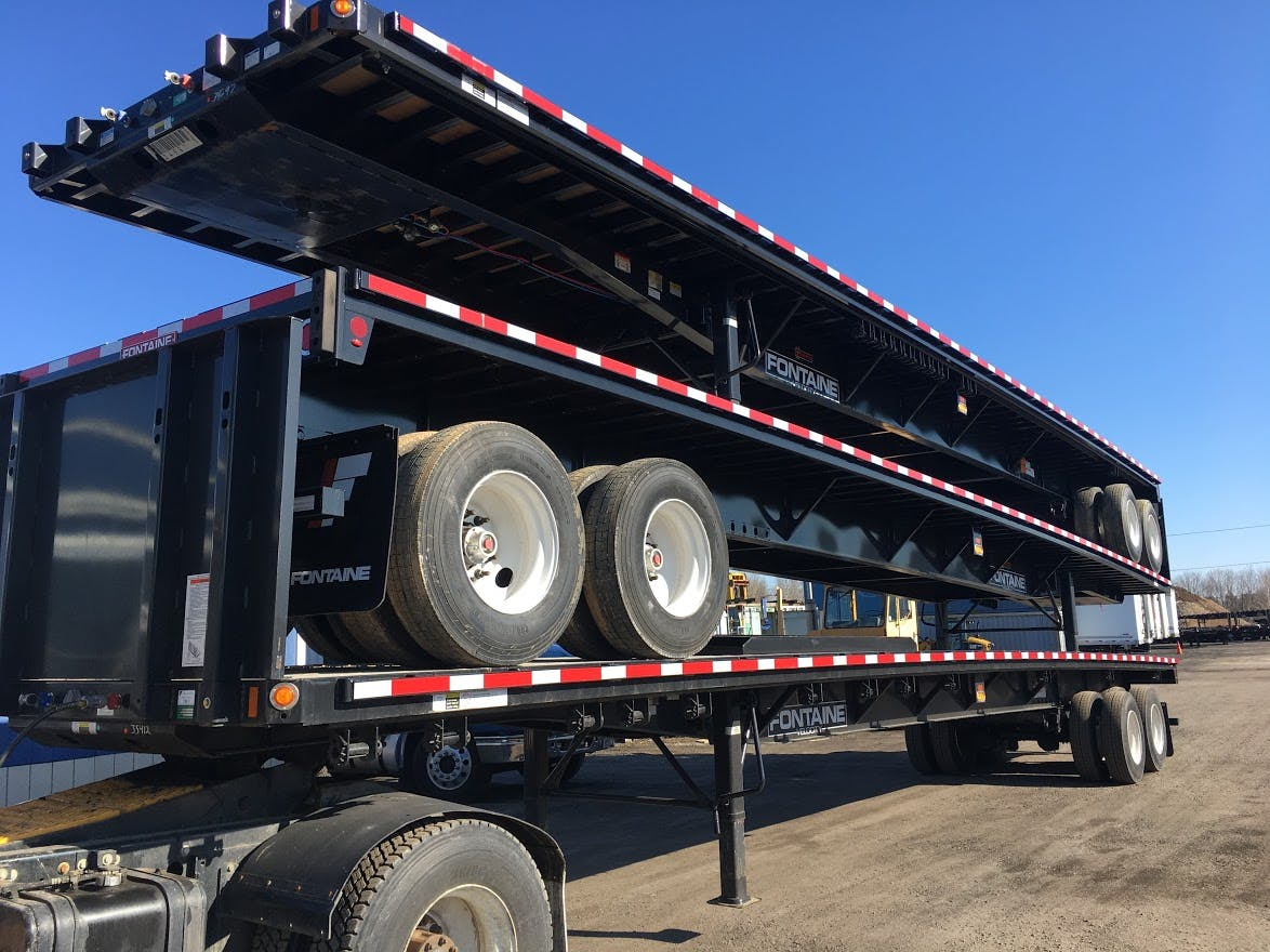2020 FONTAINE STEEL FLATBED TRAILER #699868