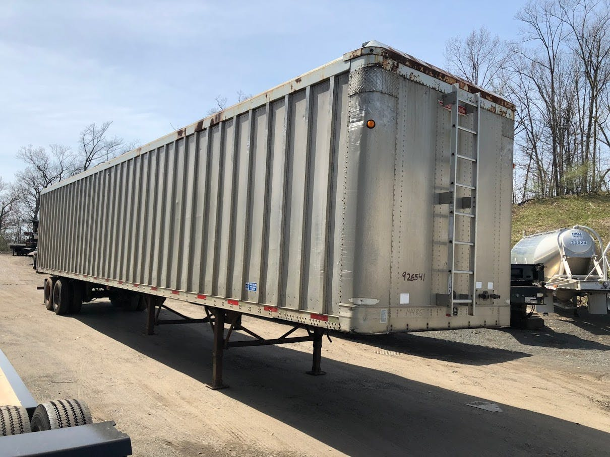 2000 TRAILMOBILE OPEN TOP TRAILER #642165