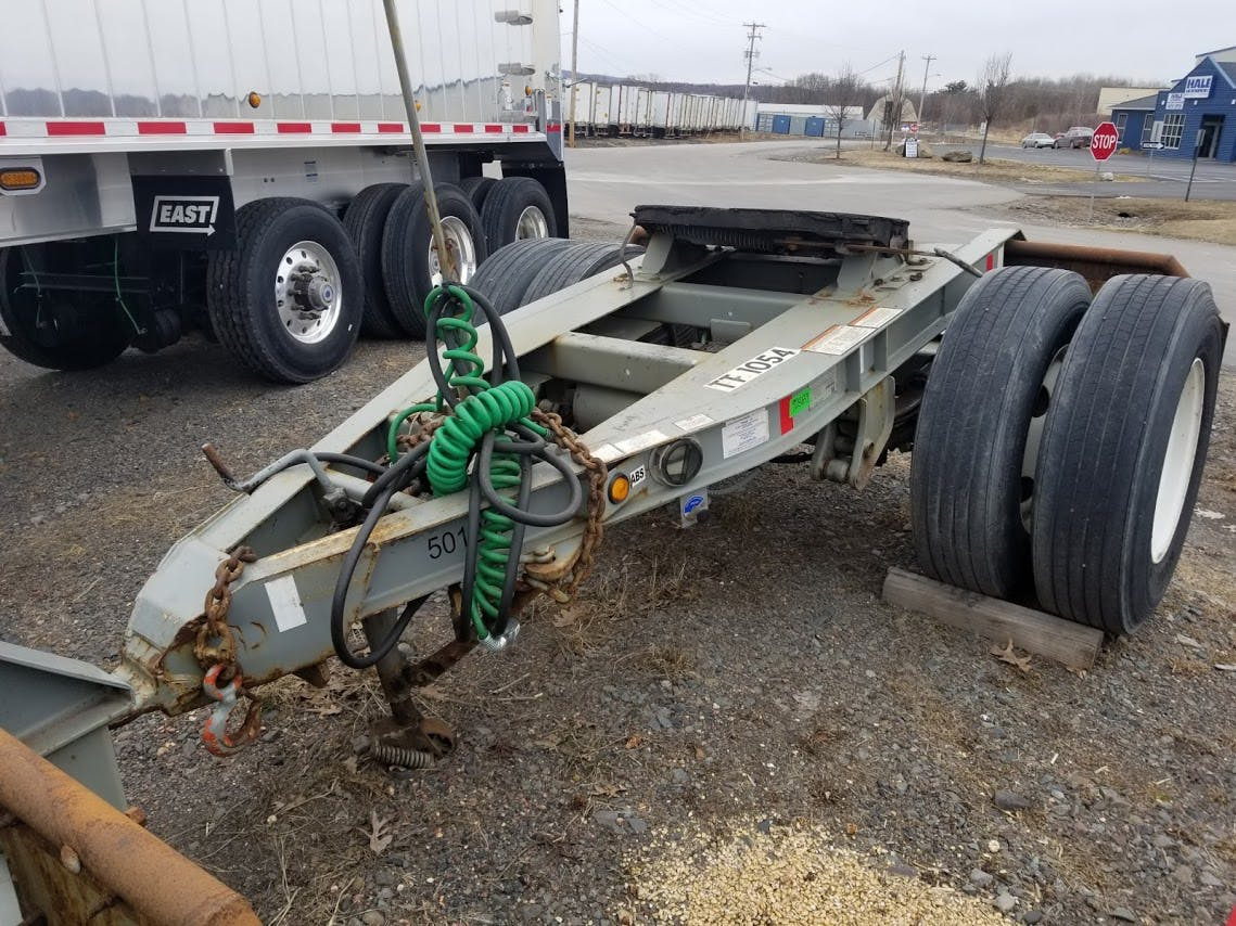 2015 GREAT DANE CONTAINER DOLLY TRAILER #643460