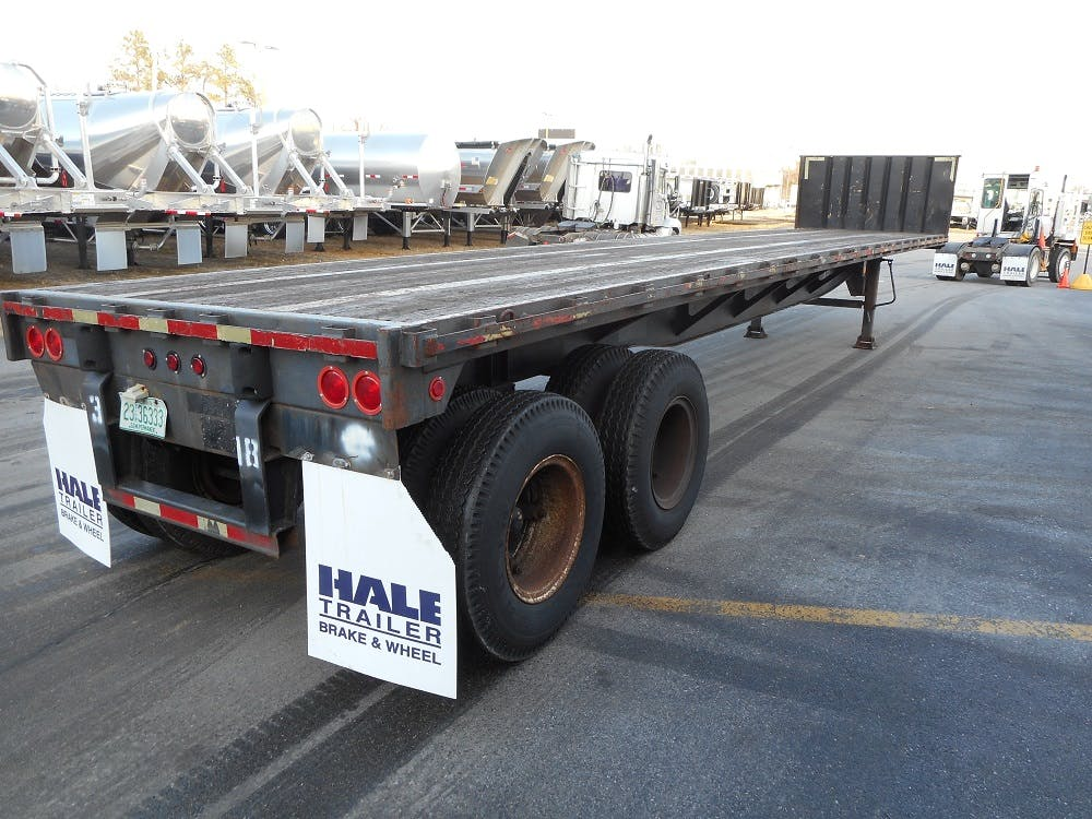 1999 ARMOR STEEL FLATBED TRAILER #643516