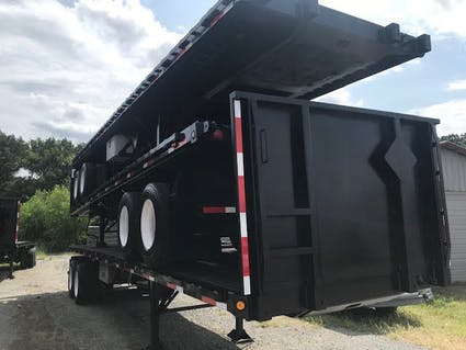 Flatbed with Forklift Kit Rent & Sale - Used & New- Hale Trailer