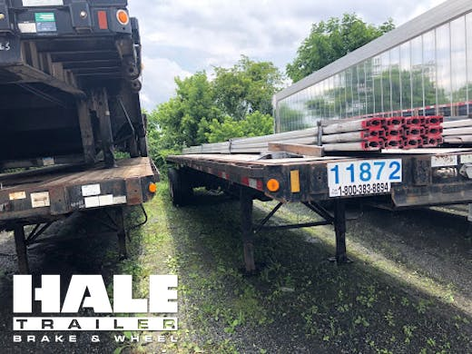 Flatbed Trailers For Rent Hale Trailer Brake Wheel Inc