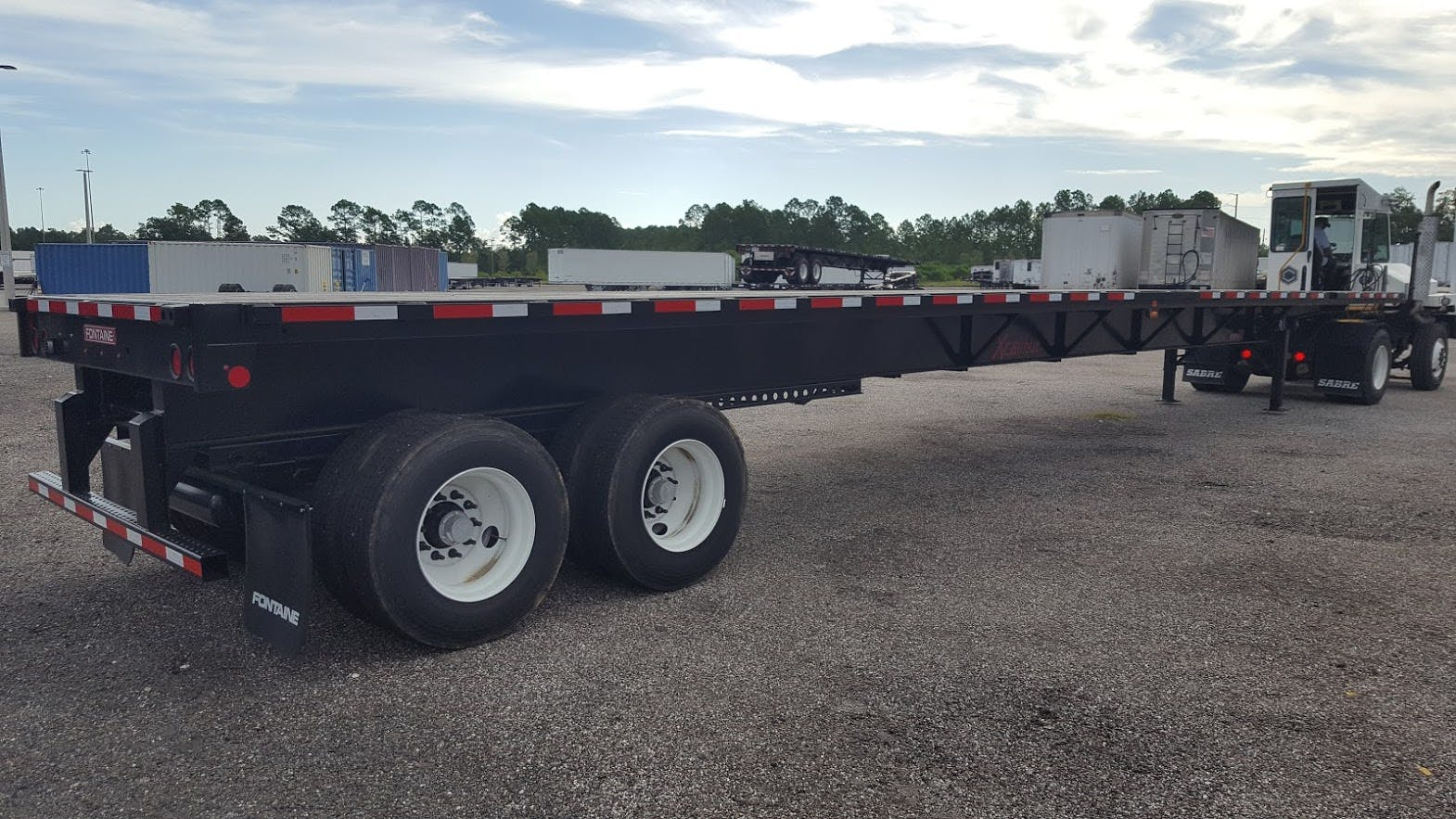 2016 FONTAINE STEEL EXTENDABLE FLATBED TRAILER #695476